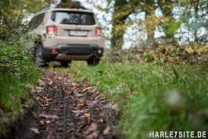 Offroad mit dem Jeep Renegade