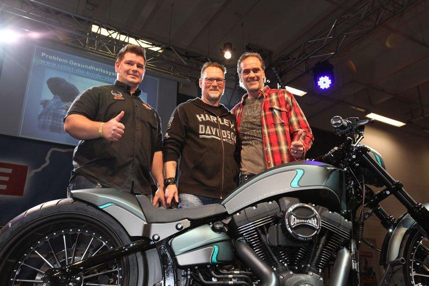 Harley-Davidson unterstützt die Spendenaktion-Motorrad.de