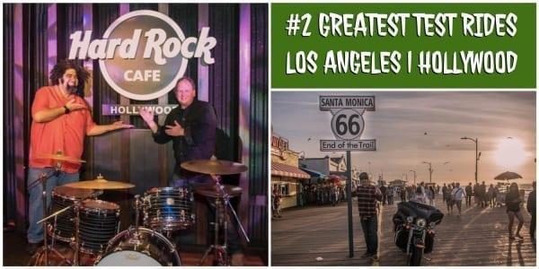 Besuch im Hollywood Hard Rock Cafe