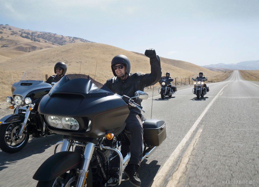 Grand-Touring-Erlebnisfahrten - Bildnachweis: Harley-Davidson