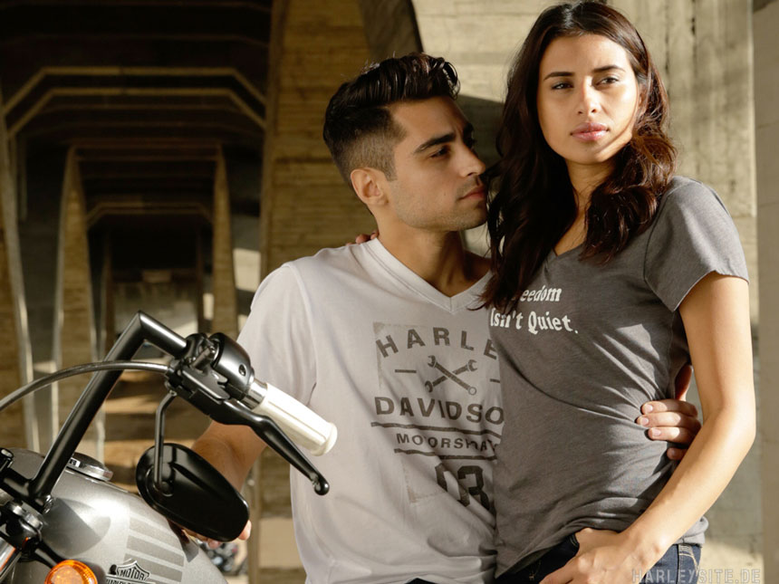 Die neue Harley-Davidson Sommer-Fashion ist da! Bildnachweis: Harley-Davidson
