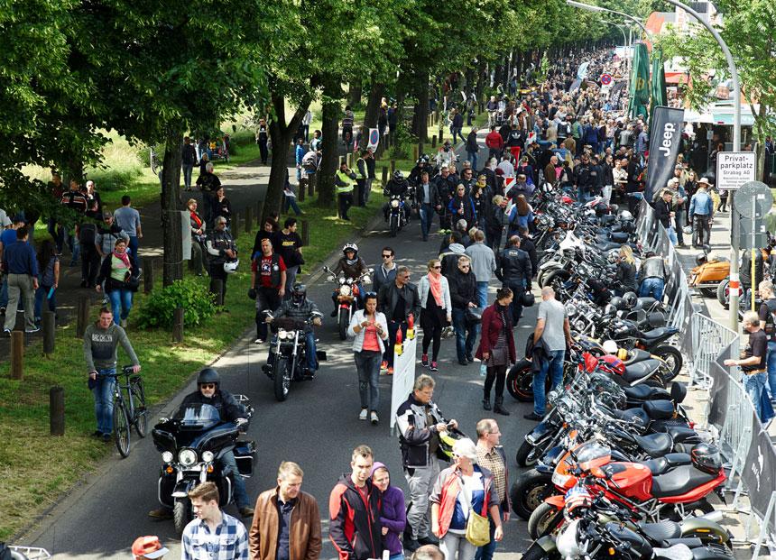 Am 18. und 19. Juni stieg der Harley Dome Cologne