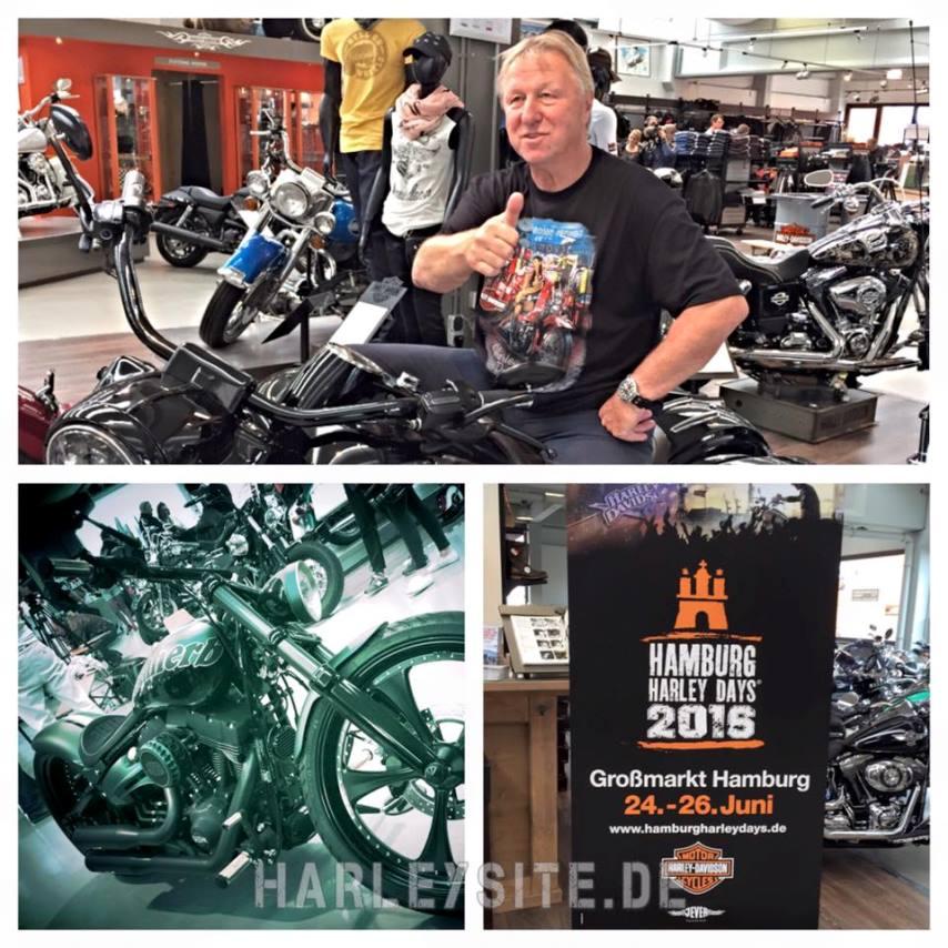 Dieses Wochenende sind die Hamburg Harley Days angesagt!