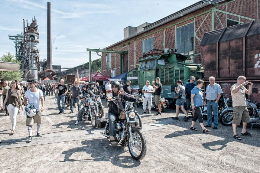 DER POTT KOCHT! 22nd Harley Meeting Ruhrpott am 7. AUGUST 2016