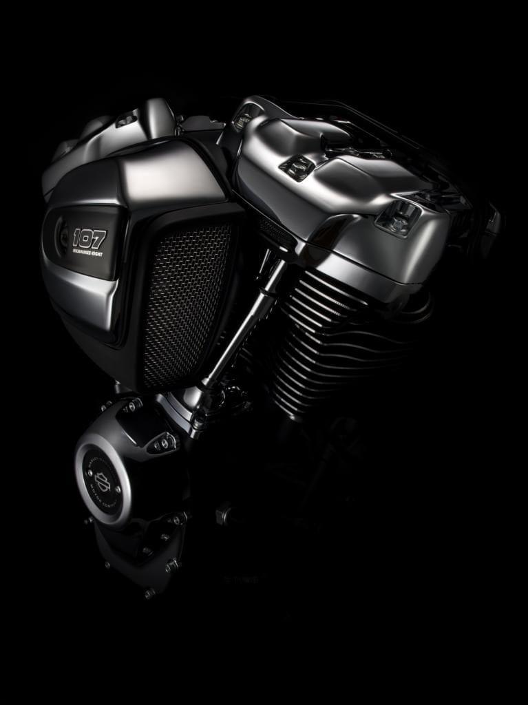Der neue 107cui Harley-Davidson Motor Milwaukee-Eight