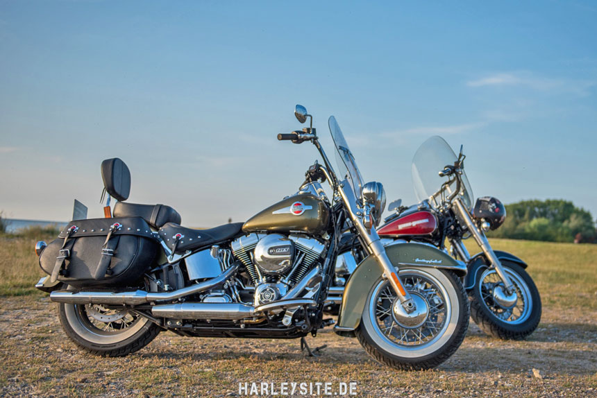 Die Harley-Davidson Heritage Softail Classic 2016 im 5000km Test
