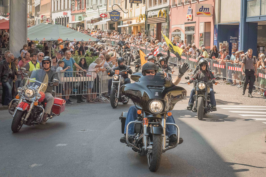 European Bike Week 2016 Parade