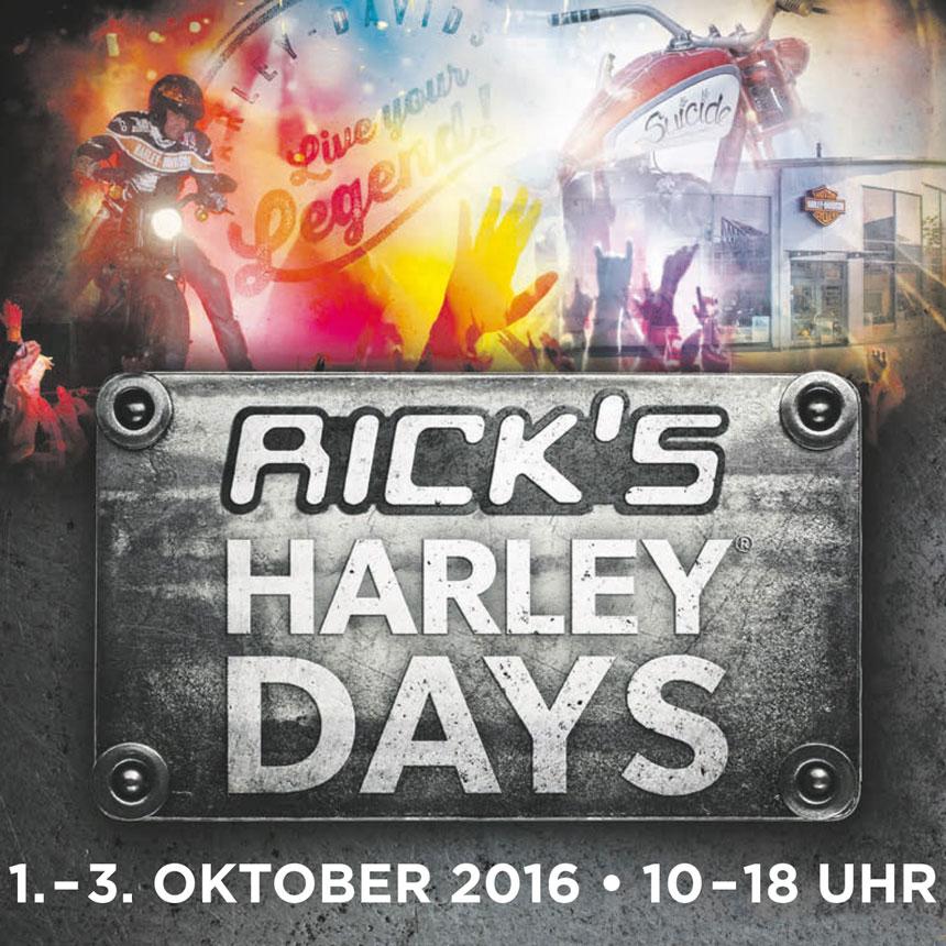 RICK's HARLEY DAYS bei Harley-Davidson Baden-Baden im Oktober