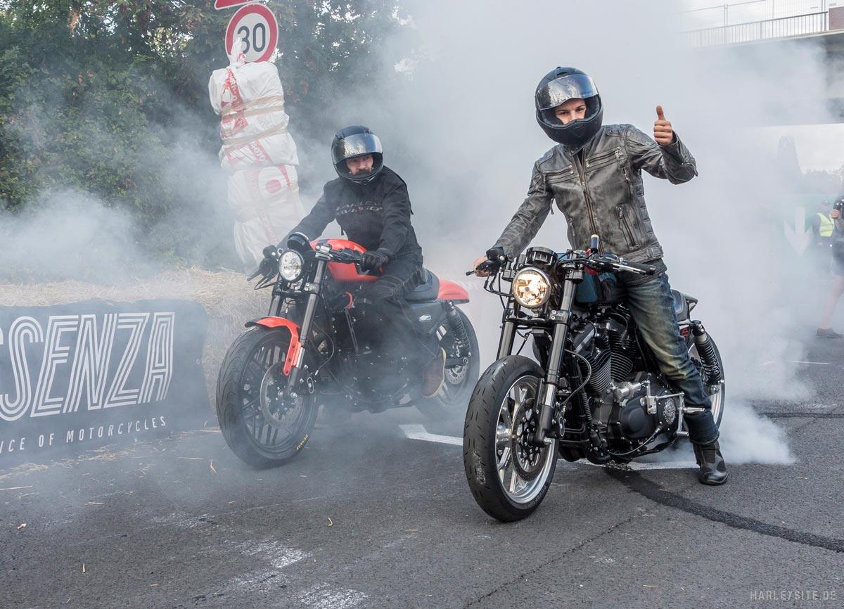 """Harley-Davidson sorgte für leuchtende Augen bei """"Essenza – The Essence of Motorcycles"""""""