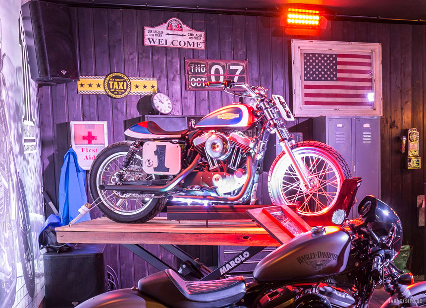 "DIE DRITTE AUSGABE DES Harley-Davidson ""BATTLE OF THE KINGS""-CONTESTS"