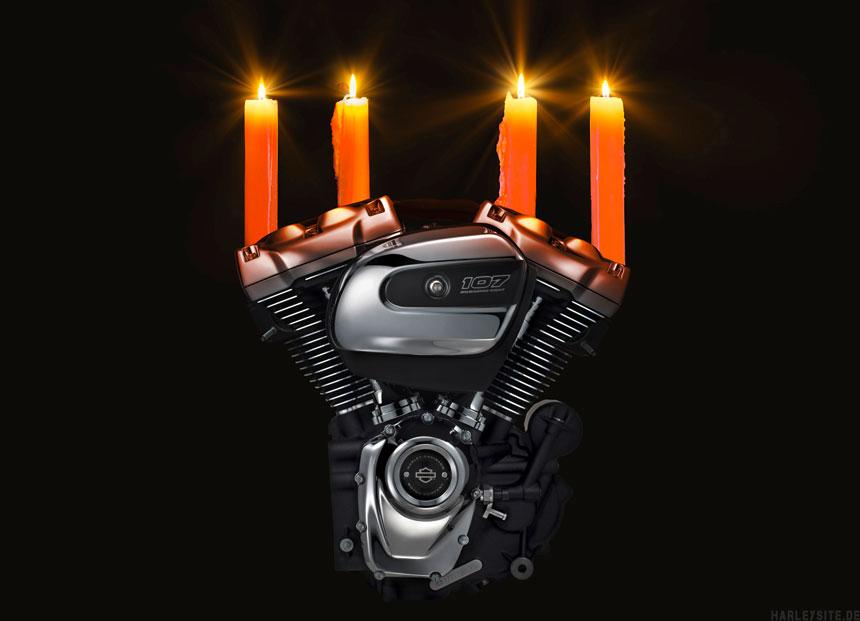 Ab Ende November feiern Harley Vertragshändler ihr Nikolaus Open House