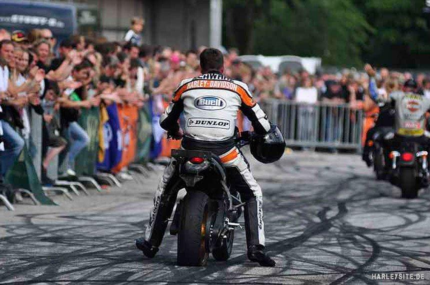Harley-Davidson Stuntrider Rainer Schwarz