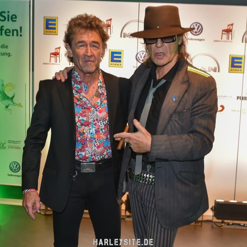 Peter Maffay und Udo Lindenberg in Hamburg