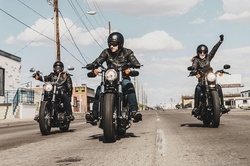 Am 1. April feiern die Harley-Davidson Vertragshändler das traditionelle Open House