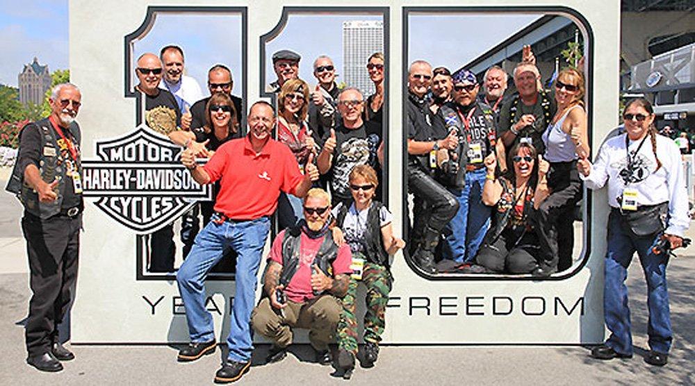 115-jähriges Harley-Davidson Jubiläum naht