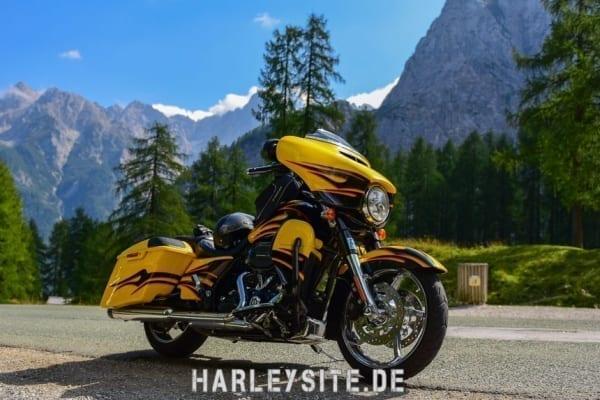 Slowenien mit der Harley-Davidson CVO Street Glide