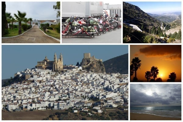 Winterflucht mit Bike & Rock nach Andalusien