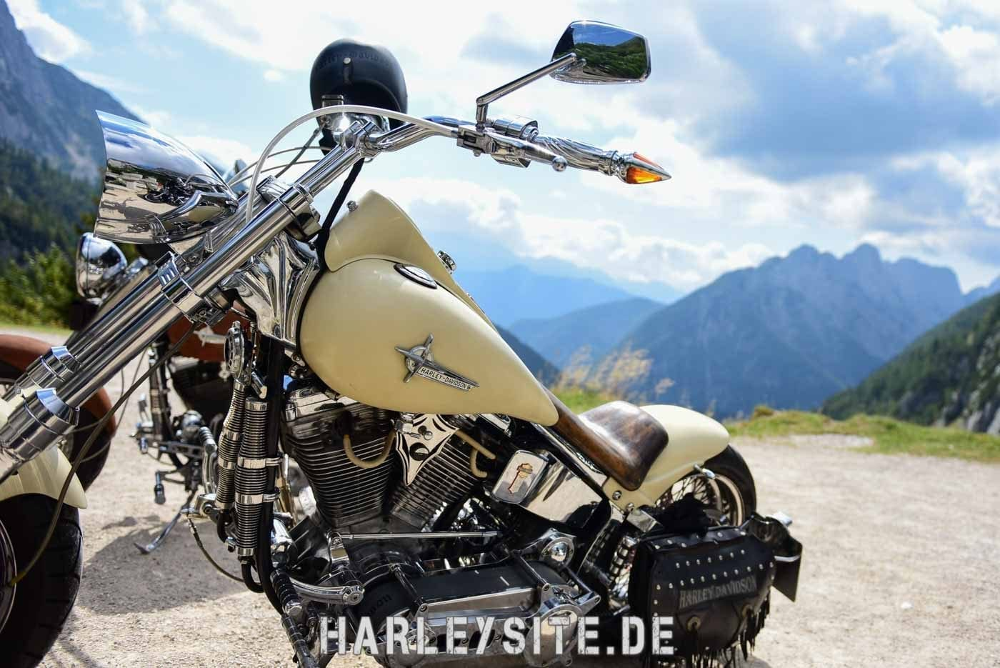 Slovenien Harley Motorradtour