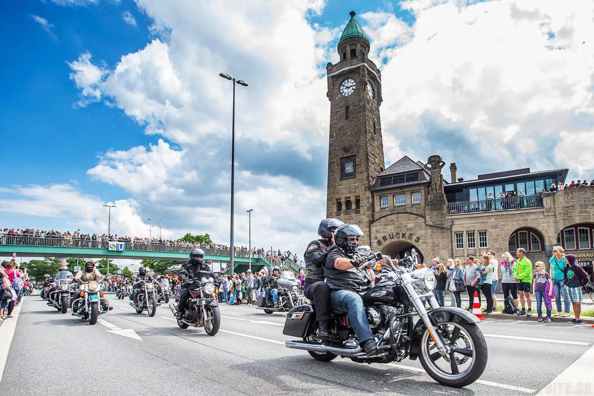 Vom 23. bis 25. Juni steigen die Hamburg Harley Days 2017