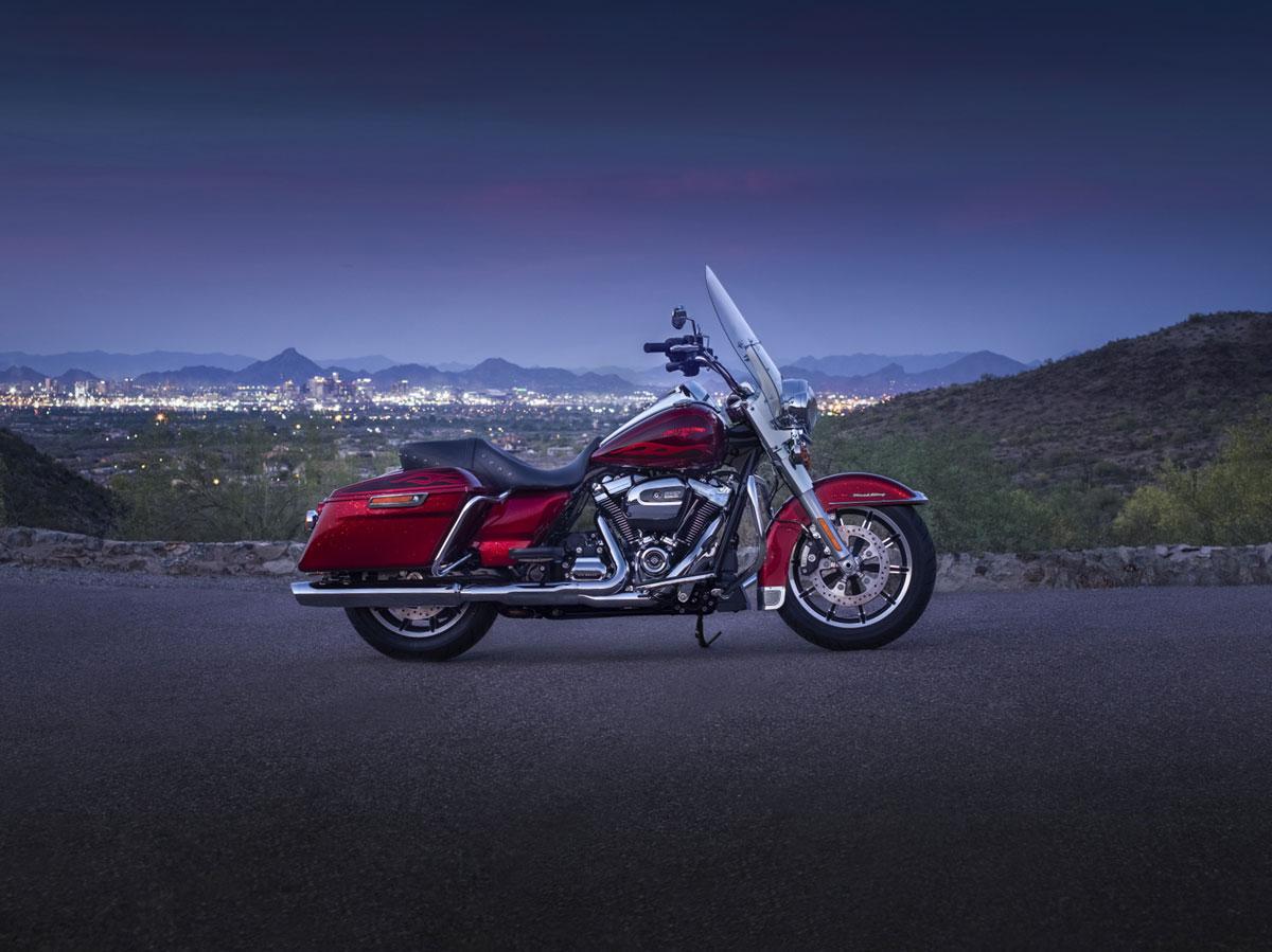 Die neue Harley-Davidson Road King 2017 1