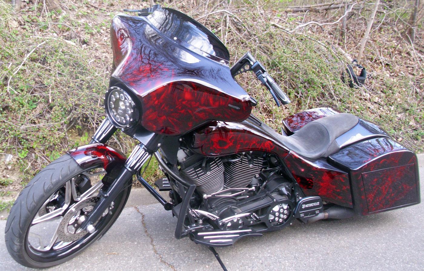 Harley-Davidson Diebstahl in Hamburg Harburg 1