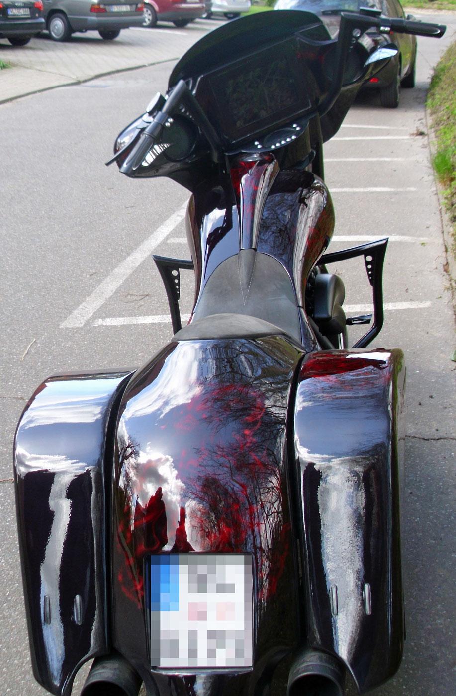 Harley-Davidson Diebstahl in Hamburg Harburg 2