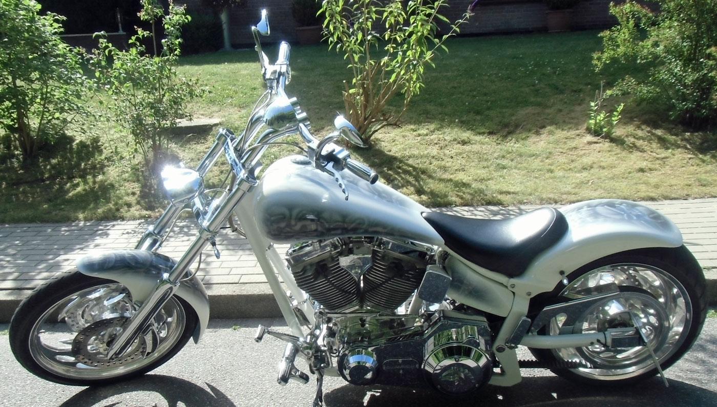 Harley-Davidson Diebstahl in Hamburg Harburg 4