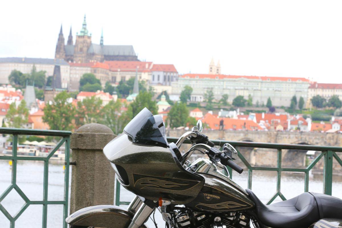 Harley-Davidson feiert sein 115-jähriges Firmenjubiläum in Prag