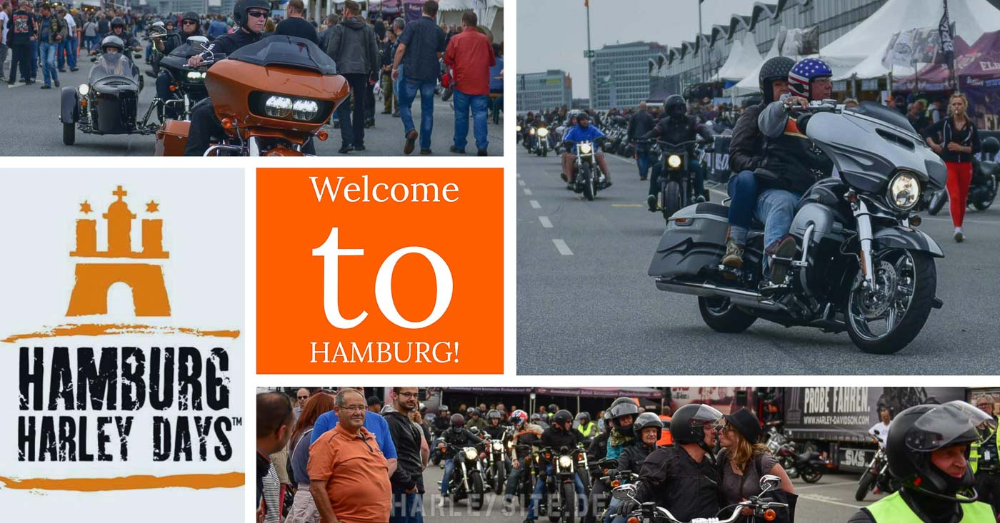 Zum 14. Mal starten in Hamburg die Harley Days