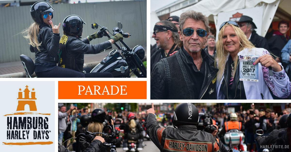 Hamburg feierte Harley-Davidson auf den Harley Days 2017