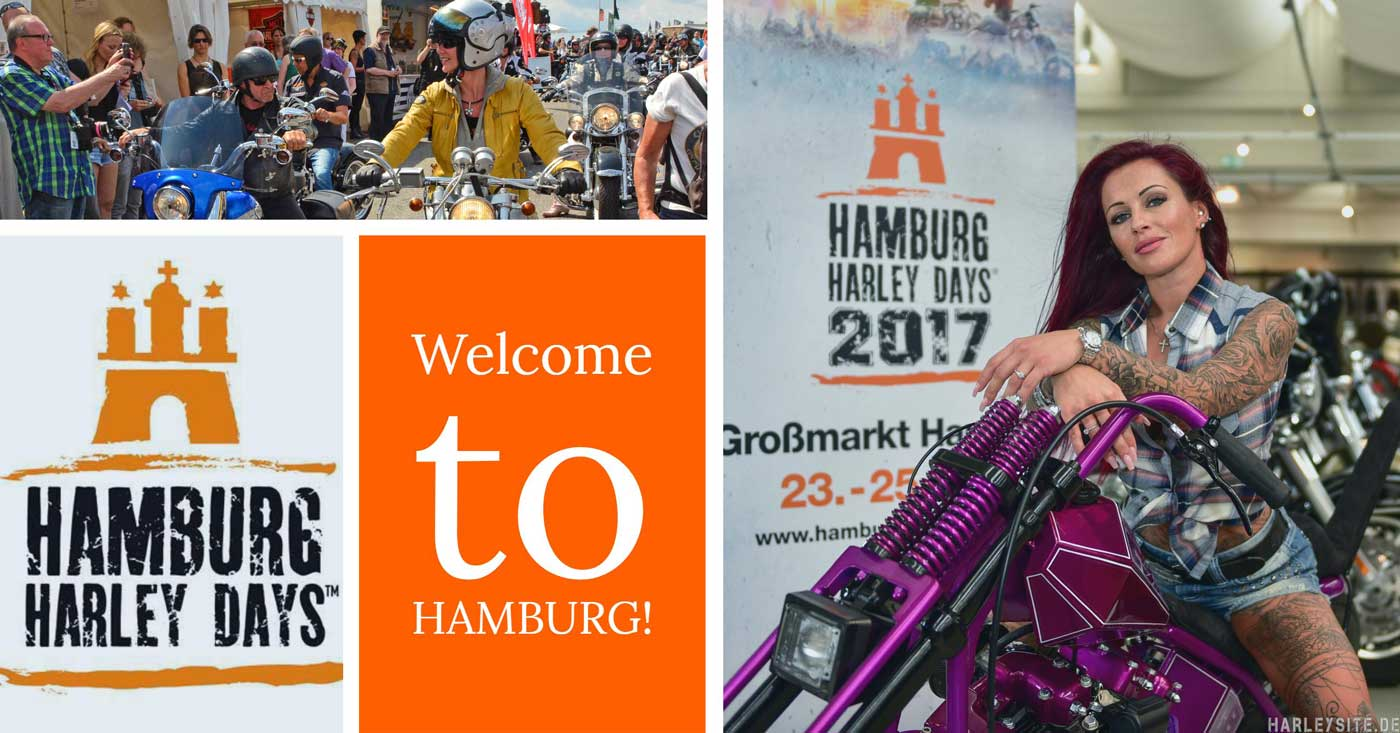 UPDATE - Hamburg Harley Days 2017 - Julia Jasmin