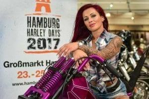 Julia Jasmin Rühle Hamburg Harley Days 2017