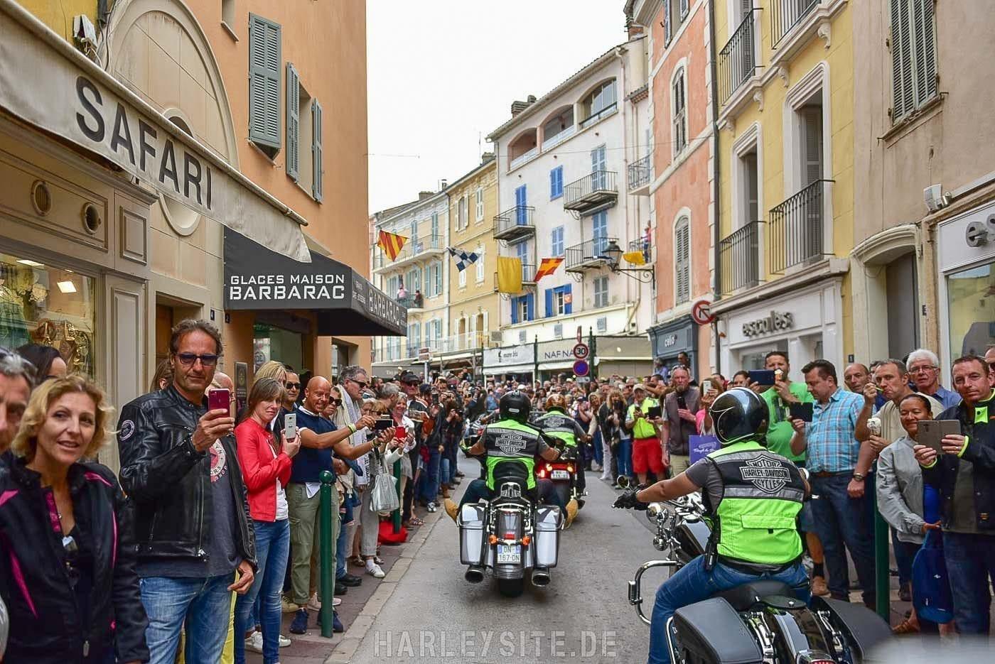 Port Saint Tropez Harley-Davidson Parade 2017