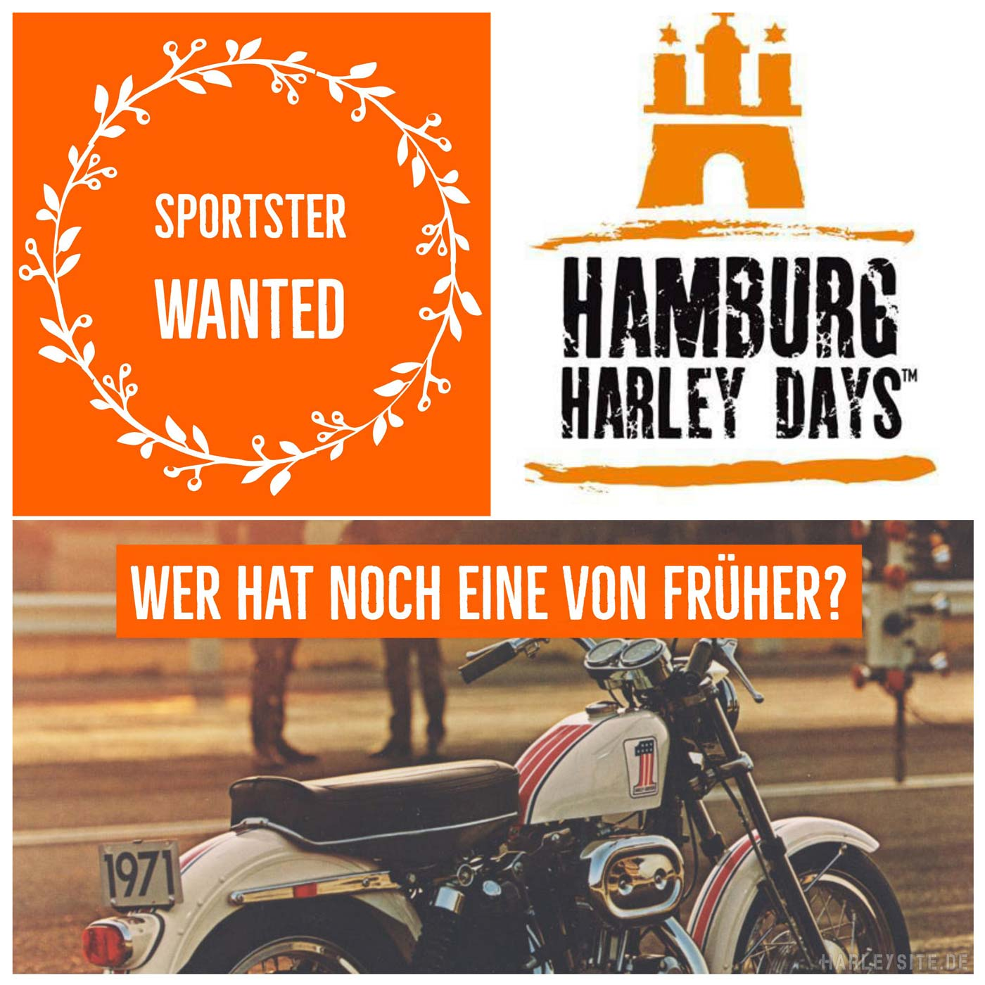 Sportster Wanted – Hamburg Harley Days