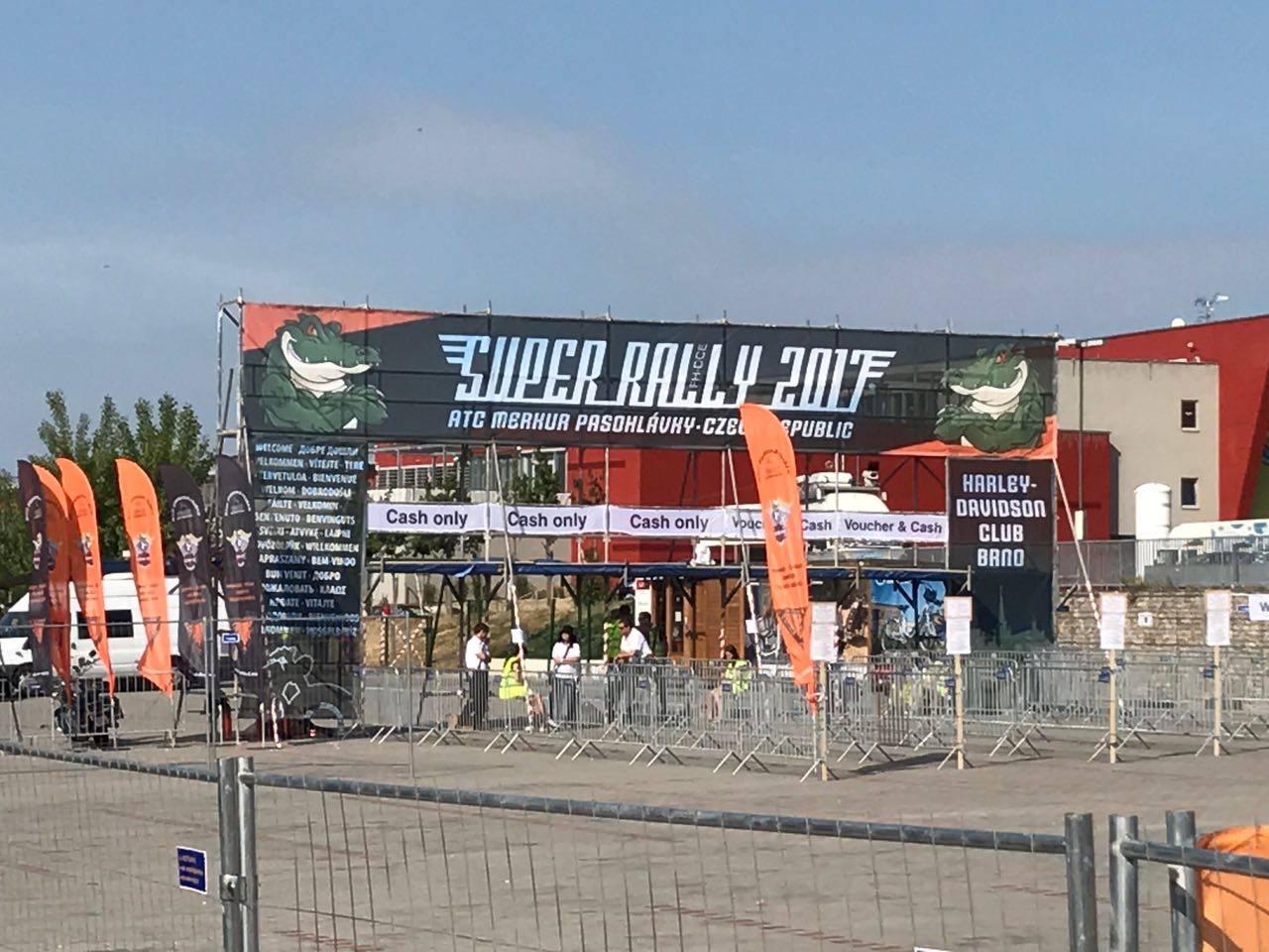 Die Super Rally in Tschechien 2017 1