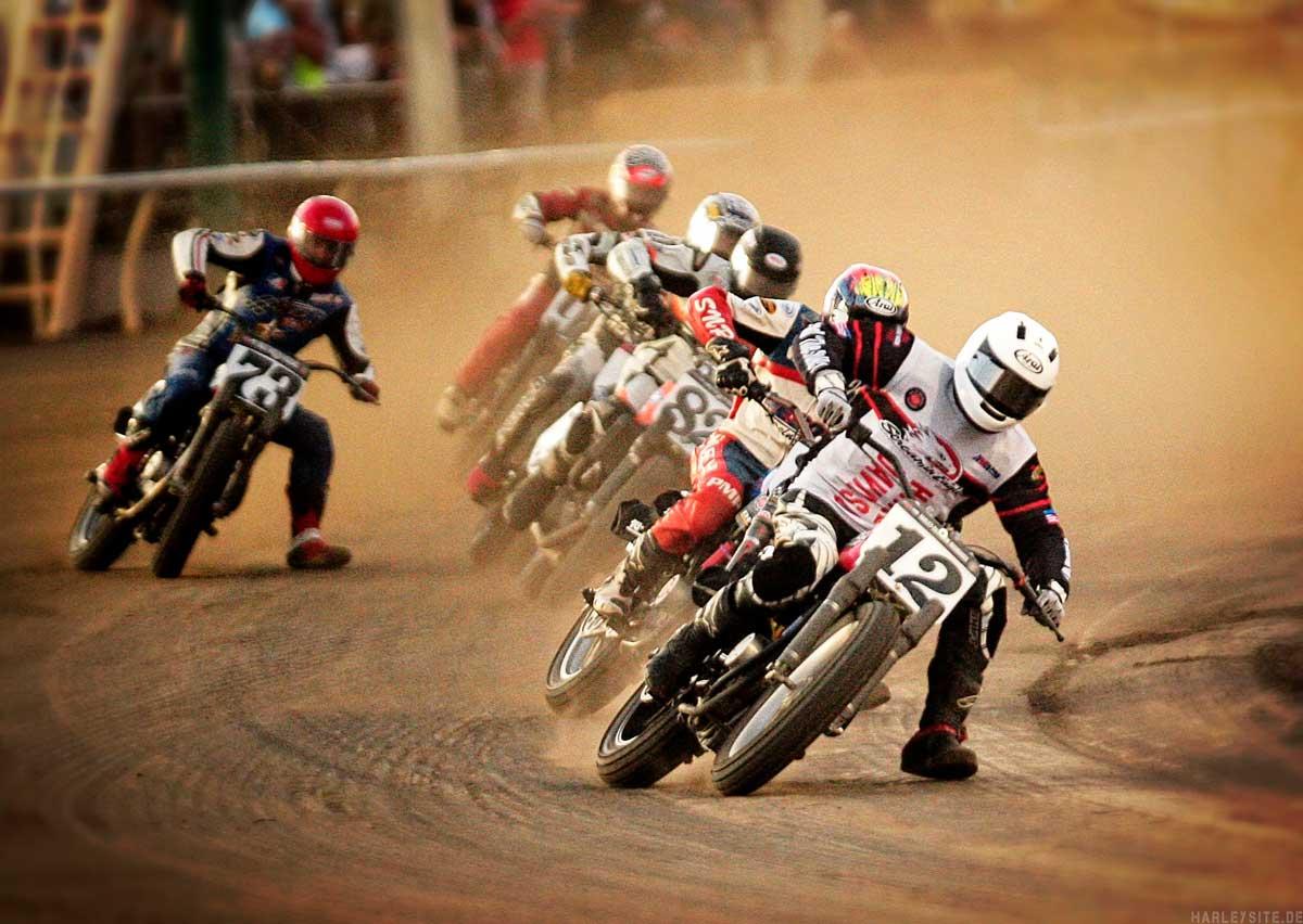 Harley-Davidson® dreht auf – beim Flat Track in Faak!