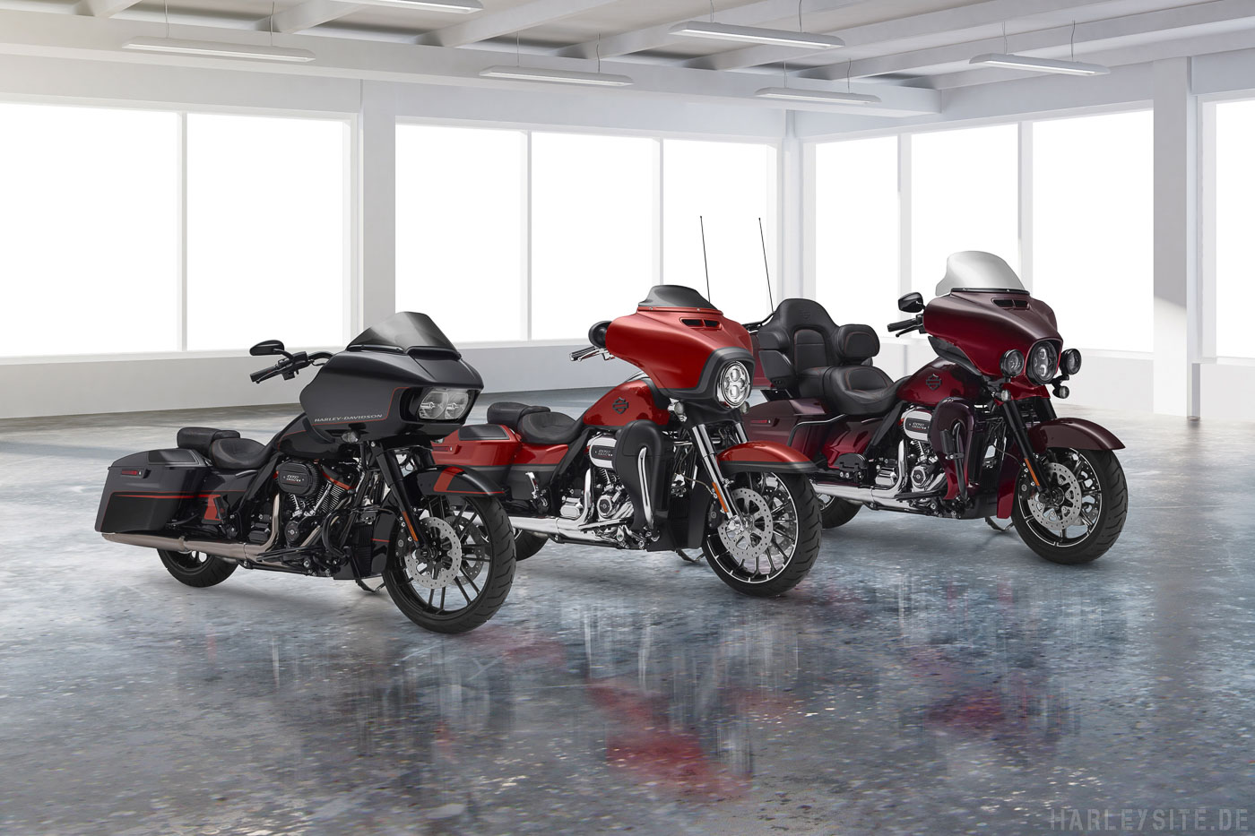 Harley-Davidson Touring Modelle 2018
