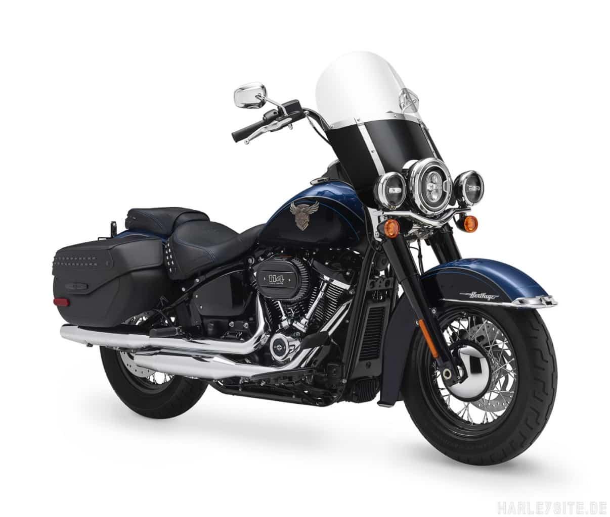 Harley-Davidson 115th Anniversary Heritage Classic 114 Seitenansicht rechts