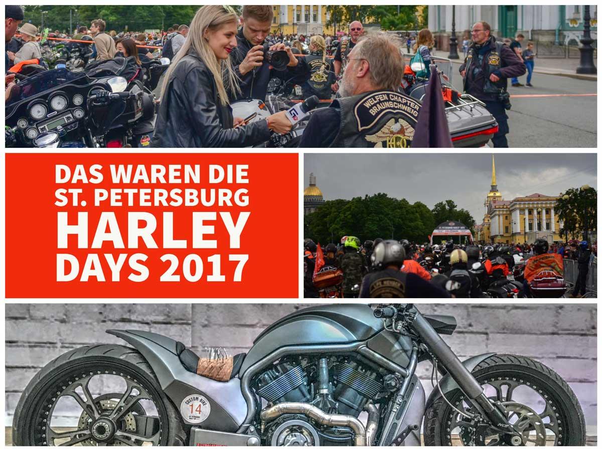 Das waren die St. Petersburg Harley Days 2017