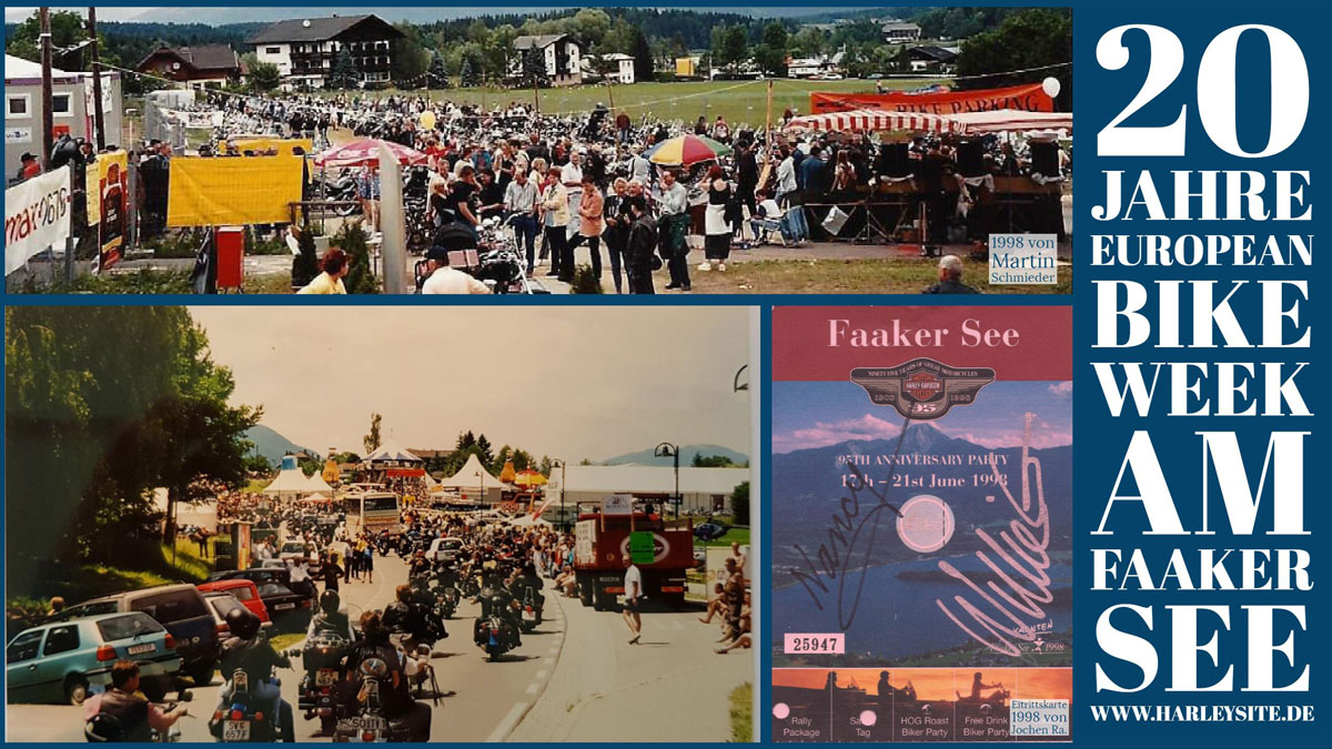 20 Jahre European Bike Week am Faaker See