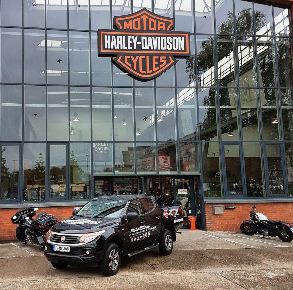 Harley-Davidson Pickup Fiat Fullback