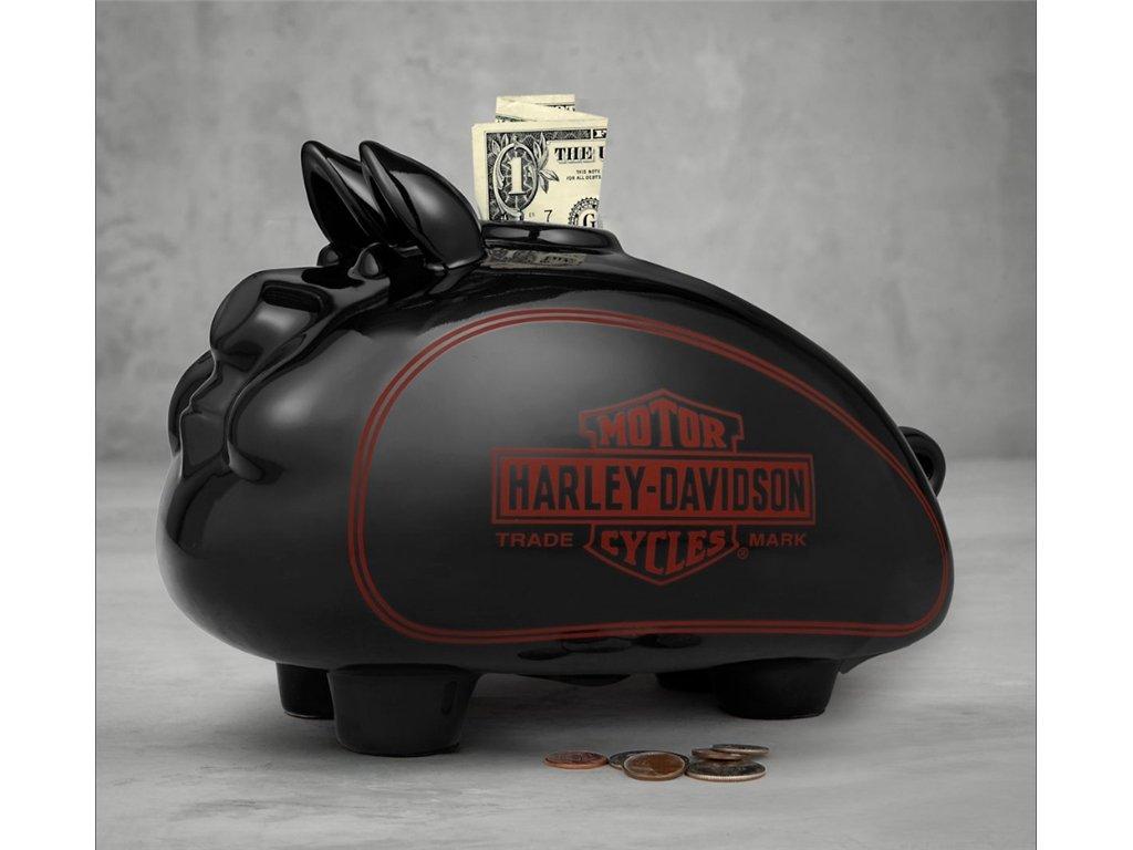 Das passende Harley-Davidson Sparschwein zu Weihnachten!