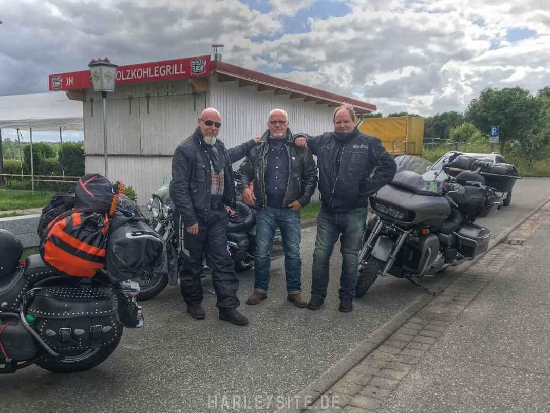 Start der Nordkap Tour in Preetz