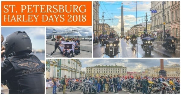 St. Petersburg Harley Days 2018
