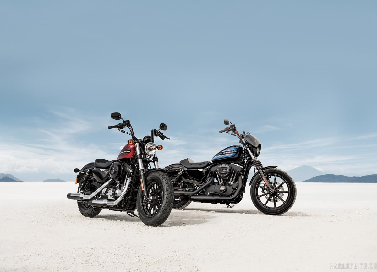 HARLEY-DAVIDSON SPORTSTER MODELLE IRON 1200 UND FORTY-EIGHT SPECIAL