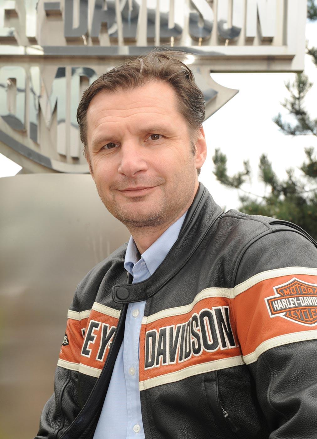 Christian Arnezeder betreut als Geschäftsführer Central Europe bei Harley-Davidson nun auch die nordeuropäischen Märkte
