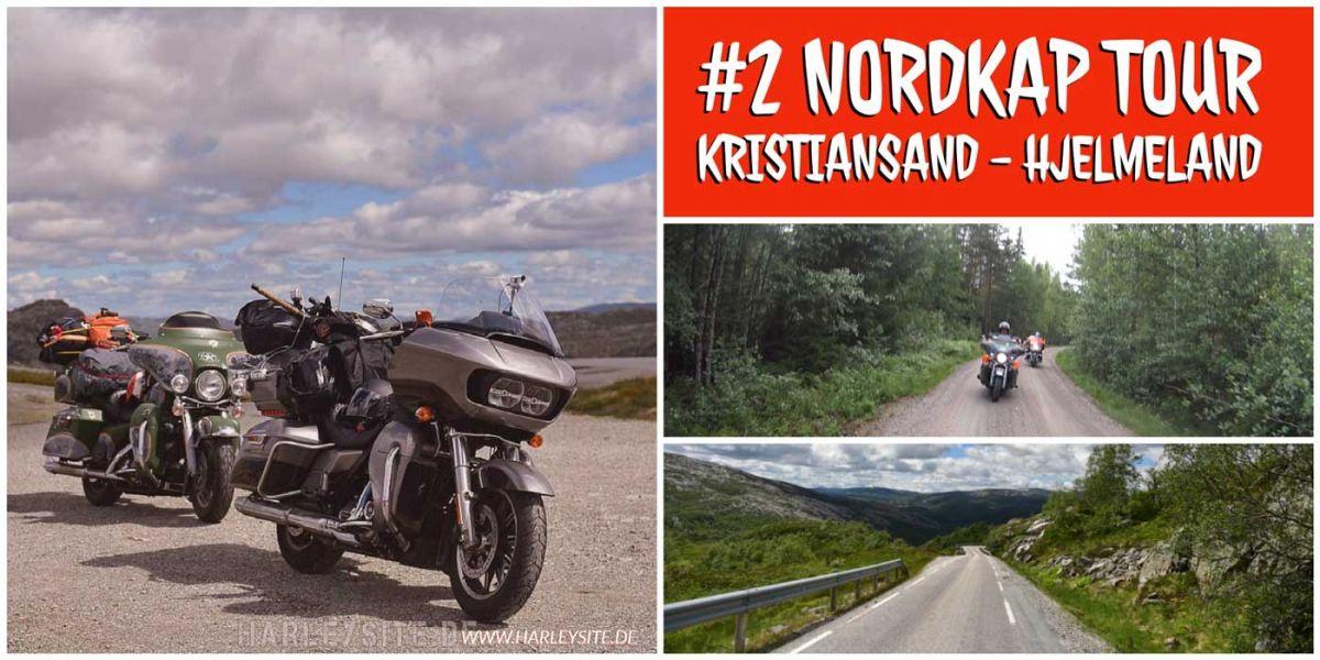 #2 Nordkap Tour - Von Kristiansand nach Hjelmeland