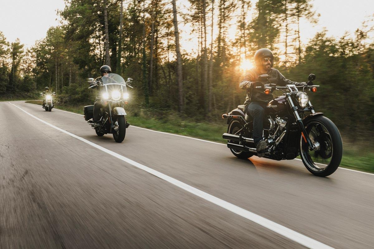 Probefahrten und Wiedereinsteigerkurse bei Harley-Davidson