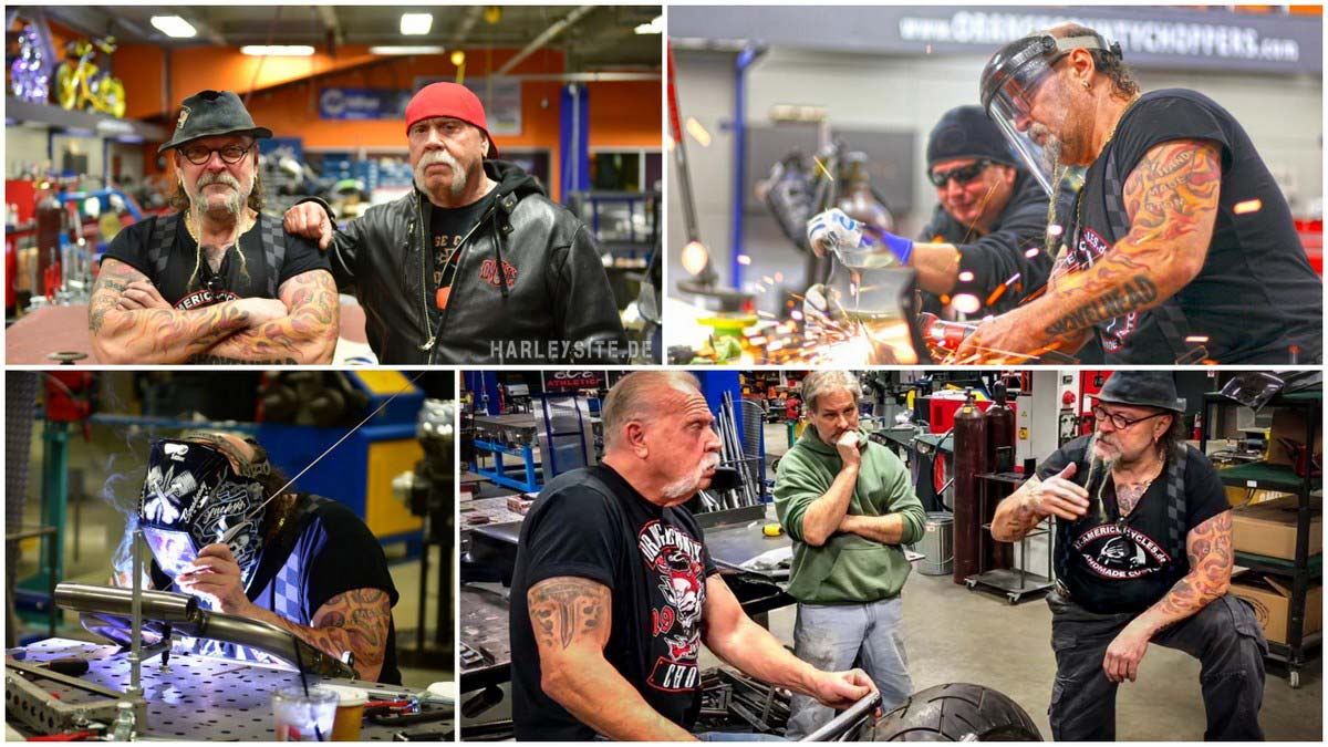 Behind the Scene - Die ersten Tage bei Orange County Choppers in Newburgh