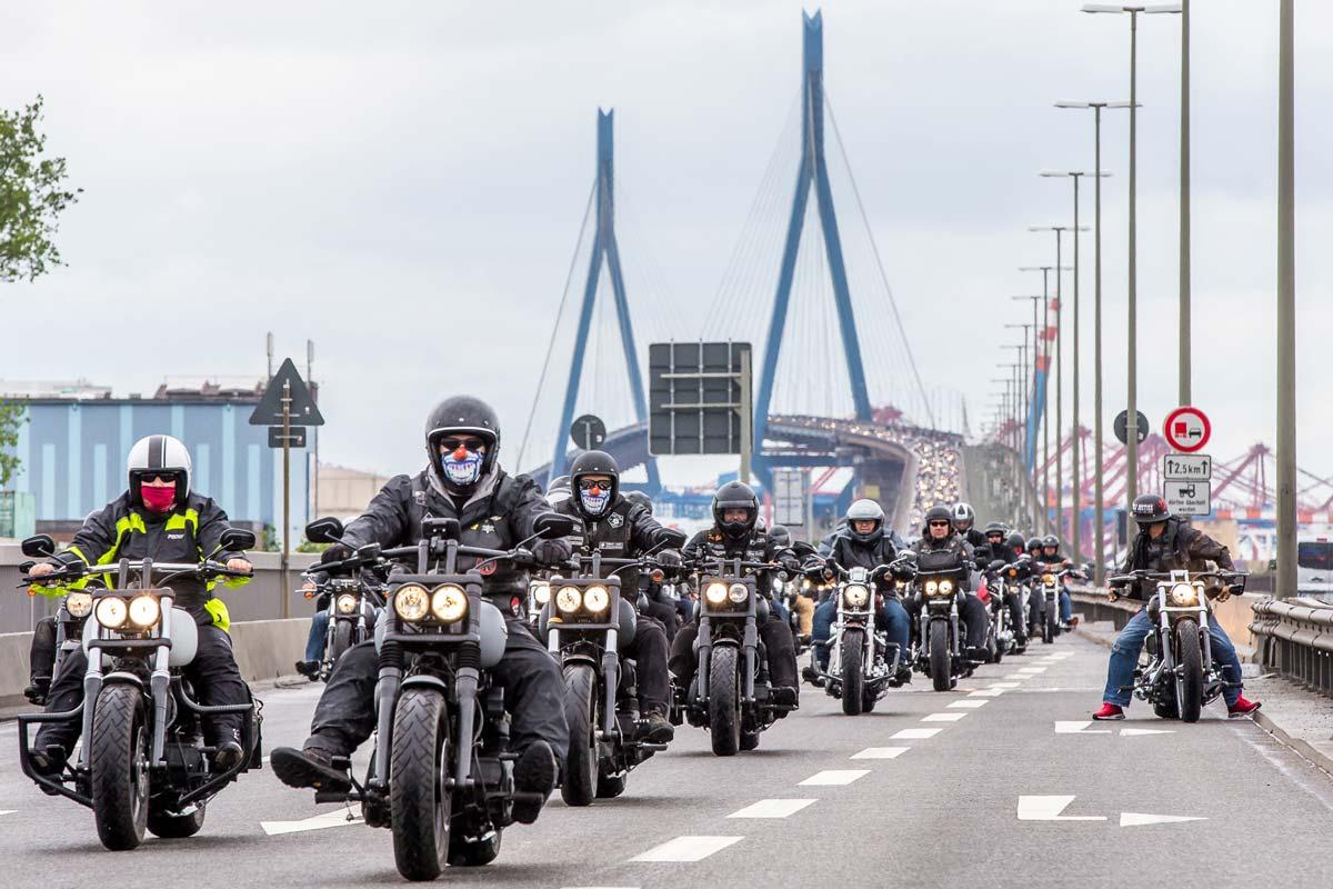 Vom 22. bis zum 24. Juni rocken die Hamburg Harley Days